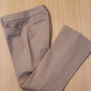 Banana Republic Sloan Fit Tan Pants sz 0p